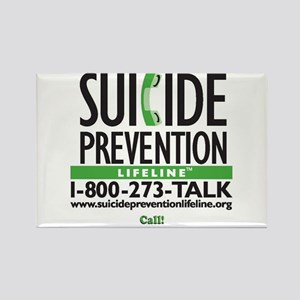 Prevent Suicide! Rectangle Magnet