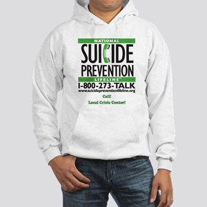Prevent Suicide! Hooded Sweatshirt