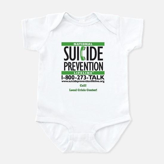 Prevent Suicide! Infant Bodysuit