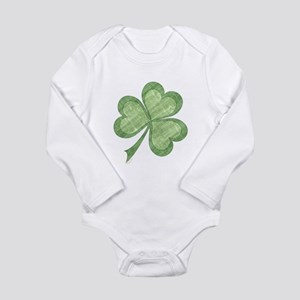 Vintage Shamrock Infant Creeper Body Suit