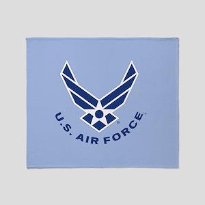 US Air Force Throw Blanket