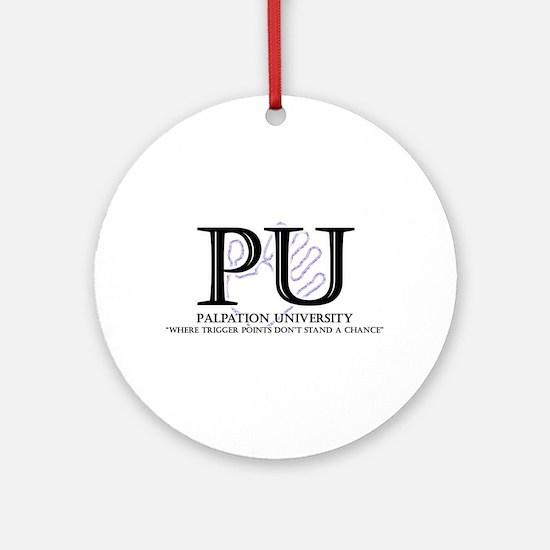 Palpation University Ornament (Round)