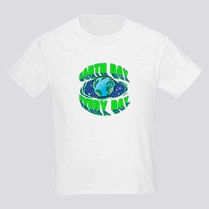 Earth Day Every Day Kids Light T-Shirt