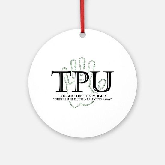 Trigger Point University Ornament (Round)