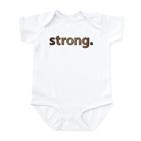 """STRONG."" Infant Bodysuit"