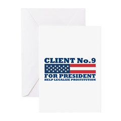 Client No.9 Greeting Cards (Pk of 10)
