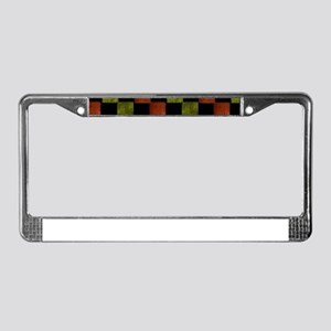 Cultural License Plate Frame
