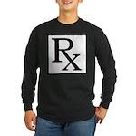 Rx Symbol Long Sleeve Dark T-Shirt