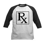 Rx Symbol Kids Baseball Jersey