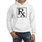 Rx Symbol Hooded Sweatshirt