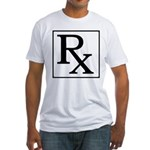 Rx Symbol Fitted T-Shirt