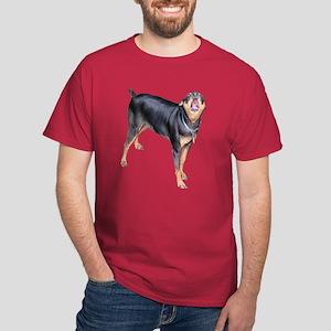 Helaine's Miniature Pinscher Dark T-Shirt