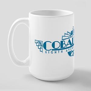 Cobalt Club Large Mug