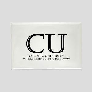 Colonic University Rectangle Magnet