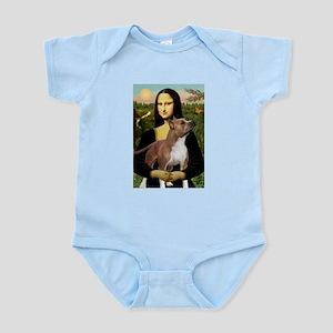Mona Lisa (new) & Amstaff Infant Creeper
