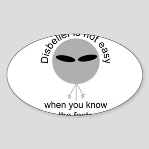 alien debunker Sticker