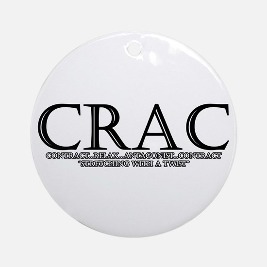 contract-relax-antagonist-con Ornament (Round)
