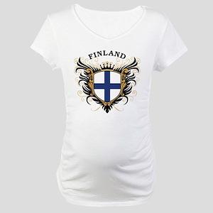 Finland Maternity T-Shirt