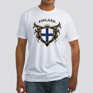 Finland Fitted T-Shirt
