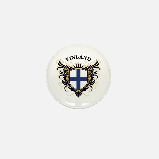 Finland Mini Button