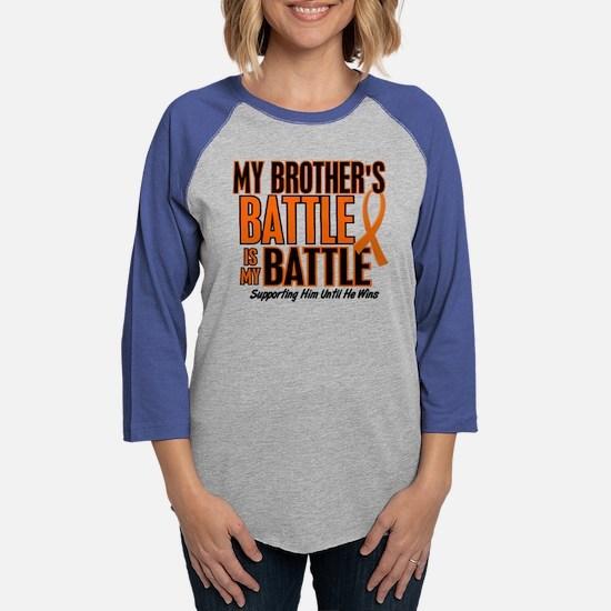 My Battle Too (Brother) Orange Long Sleeve T-Shirt
