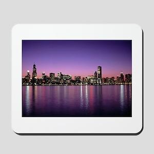Chicago Nitetime Skyline Mousepad