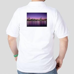 Chicago Nitetime Skyline Polo Shirt