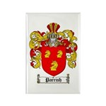 Parrish Family Crest Rectangle Magnet (10 pack)