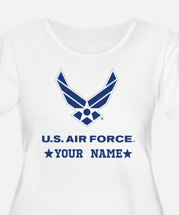 U.S. Air Force Personalized Gift Plus Size T-Shirt