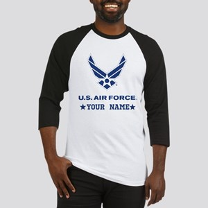 U.S. Air Force Personalized Gift Baseball Jersey