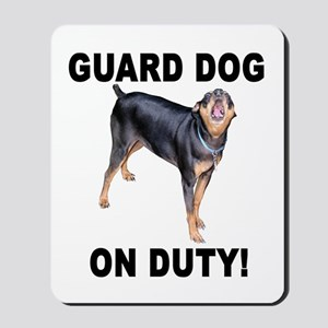 Helaine's GUARD DOG Mousepad