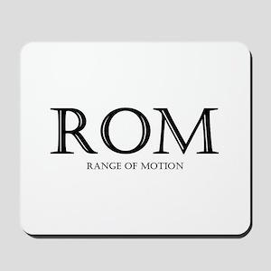 Range of Motion Mousepad