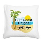 GCG10x10insetlogo Square Canvas Pillow
