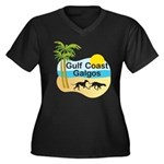 GCG10x10insetlogo Plus Size T-Shirt