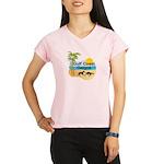 GCG10x10insetlogo Performance Dry T-Shirt