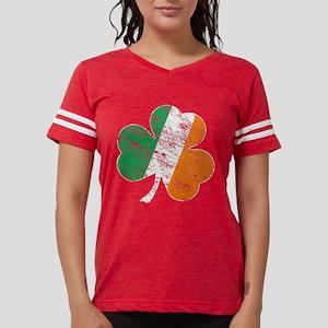 Vintage Distressed Irish Flag Shamro T-Shirt