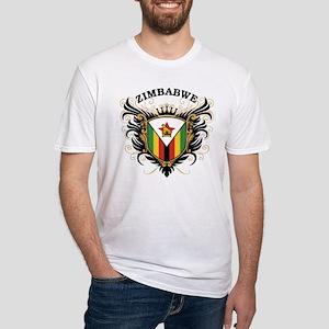 Zimbabwe Fitted T-Shirt