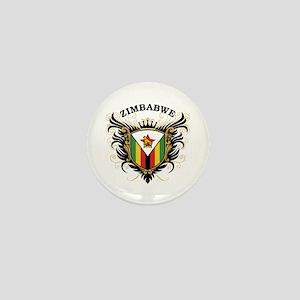 Zimbabwe Mini Button