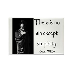 Wilde Quote Magnets Cafepress