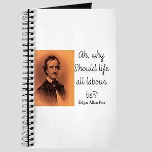 POE LIFE QUOTE Journal