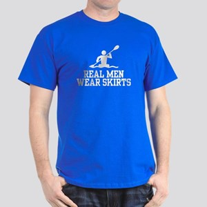 Real Men Wear Skirts Dark T-Shirt