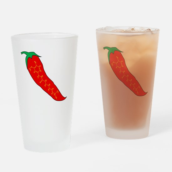Capsaicin Pepper Drinking Glass