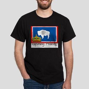 Wyoming Princess Dark T-Shirt