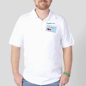 Diabetics 2 Sweet Golf Shirt