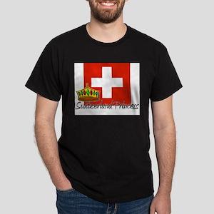 Switzerland Princess Dark T-Shirt
