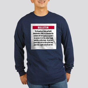 OSHA Limits Long Sleeve Dark T-Shirt