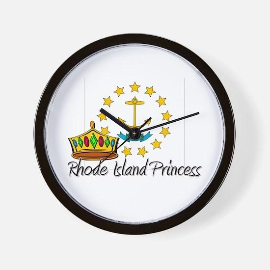 Rhode Island Princess Wall Clock