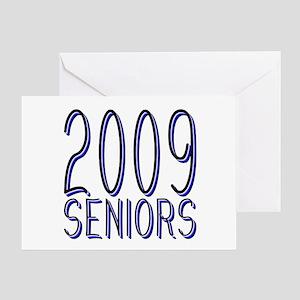 Mechanihan Blue 2009 Greeting Card