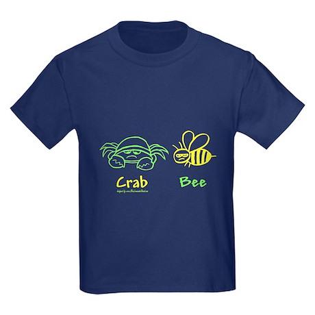 Crab Bee Kids Dark T-Shirt