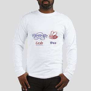Crab Bee Long Sleeve T-Shirt